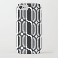 bauhaus iPhone & iPod Cases featuring Bauhaus Type Black and White Art by Addison Barker