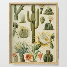 Naturalist Cacti Serving Tray