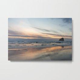 Pacific Glow Metal Print