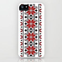 Ukrainian Pattern 2 iPhone Case