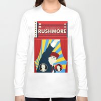 rushmore Long Sleeve T-shirts featuring Rushmore by Bill Pyle