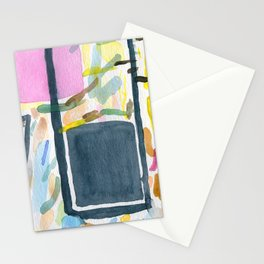 Abstract watercolor still life #2 Stationery Cards