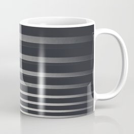 Black And White Stripes // Zebra Pattern Photography Coffee Mug