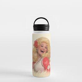 Dolly Parton - Watercolor Water Bottle