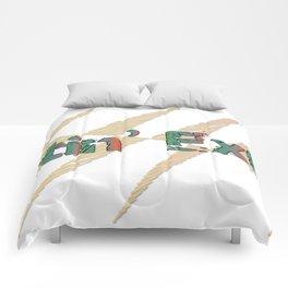 actin' extra Comforters