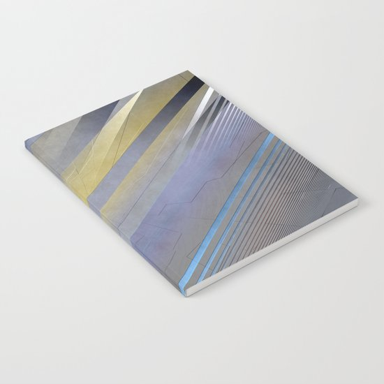 Geometric abstract 2016/003 Notebook