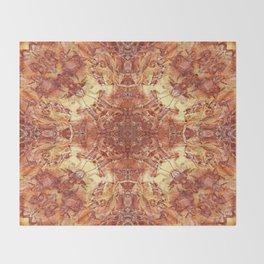 A STUDY OF MADRONA BARK Throw Blanket