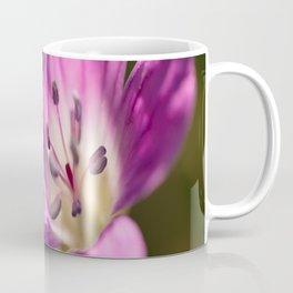 Purple flowers glow in forest #decor #buyart #society6 Coffee Mug