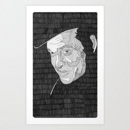 Harry Lime. Art Print
