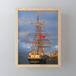 Stavros S Niarchos Framed Mini Art Print