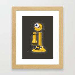 eyePhone Framed Art Print