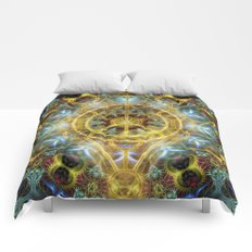 Sacred Geometry Fractal Mandala Comforters