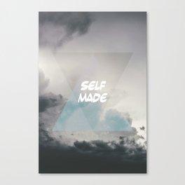 self made Canvas Print
