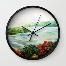 Serene - Niagara Falls Wall Clock