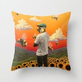 Flower Boy- Tyler, the Creator Throw Pillow