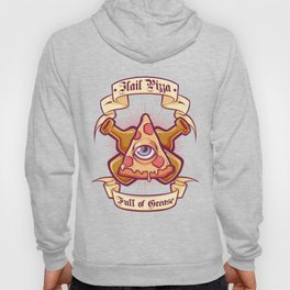 Pizza is my religion Hoody