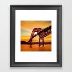 Pan-American Bridge Framed Art Print