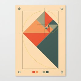 Fibonacci Experiment I Canvas Print