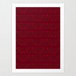 Etnico Art Print