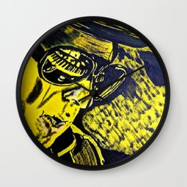 """Sir Van - The Man""  Wall Clock"