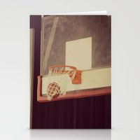basketball Stationery Cards featuring Basketball by KimberosePhotography