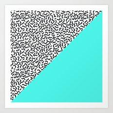 Pop Art Pattern 4 Art Print