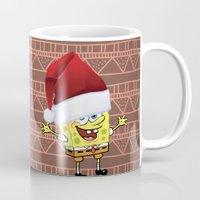 spongebob Mugs featuring Spongebob Celebration by Neo Store