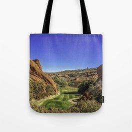 Arrowhead Golf Course Hole 13 Tote Bag