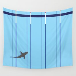 pool shark Wall Tapestry