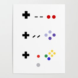 90's gaming Poster