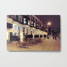 Kensington At Night Metal Print