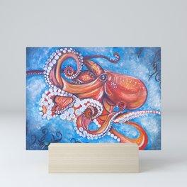 Colorful Octopus Mini Art Print