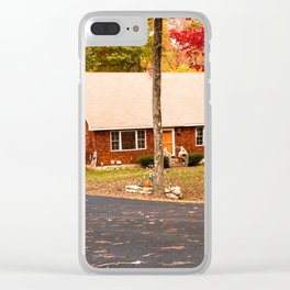 cottage in vermont Clear iPhone Case