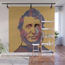 Henry David Thoreau Wall Mural