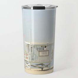 NEVER STOP EXPLORING VENICE BEACH No. 23 Travel Mug