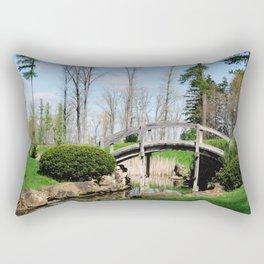 Across the stream Rectangular Pillow