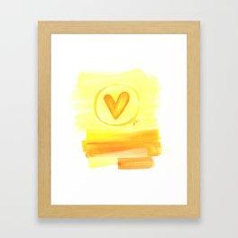 Prairie Love Framed Art Print