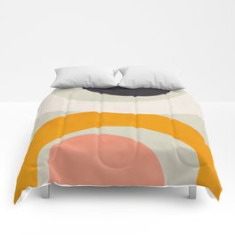 abstract shape modern geometry Comforters