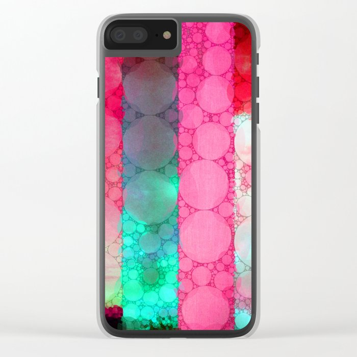 Colors of Sunrise Clear iPhone Case