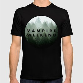 Vampire Weekend trees logo T-shirt