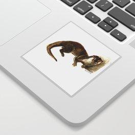 Totem otter: Amblonyx cinerea Sticker