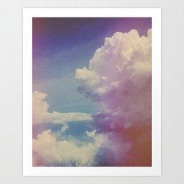 Dream of Clouds Art Print