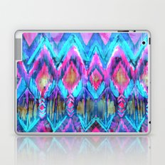 Ikat #32 Aqua Laptop & iPad Skin
