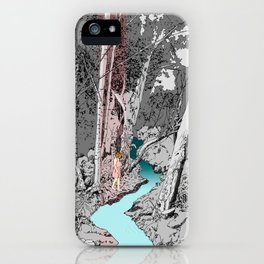 Crossing River iPhone Case