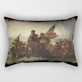 Washington Crossing the Delaware Rectangular Pillow