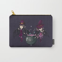 Witch and vampire Carry-All Pouch