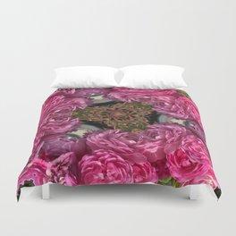 Rose Triangle Duvet Cover