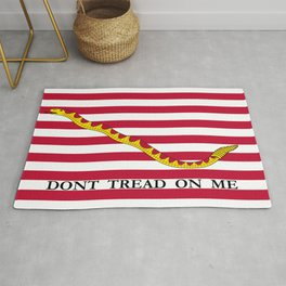 Don't Tread On Me -- First Navy Jack Rug
