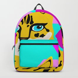 Bengal & Hexagons Backpack
