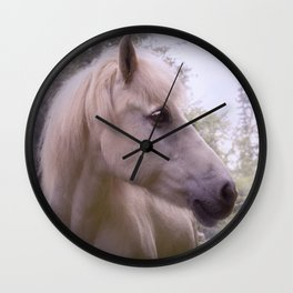 Dreaming Icelandichorse Wall Clock